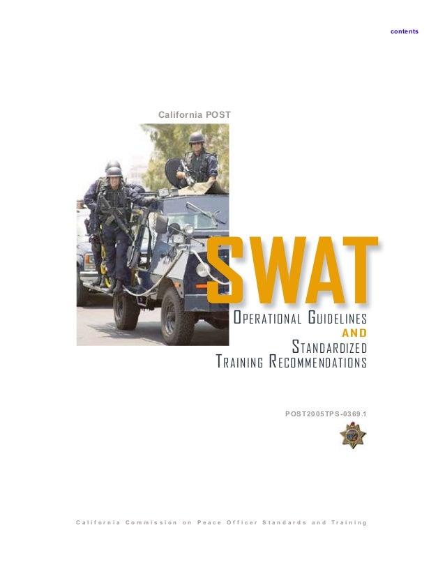 swat training manual rh slideshare net swat tactical training manual swat training manual pdf