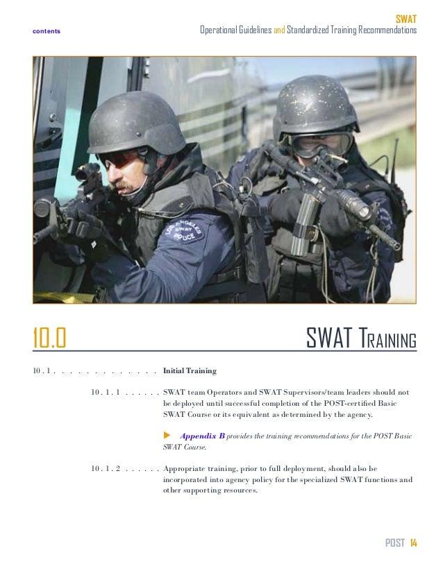 swat training manual rh slideshare net tactical training manuals swat training manual pdf
