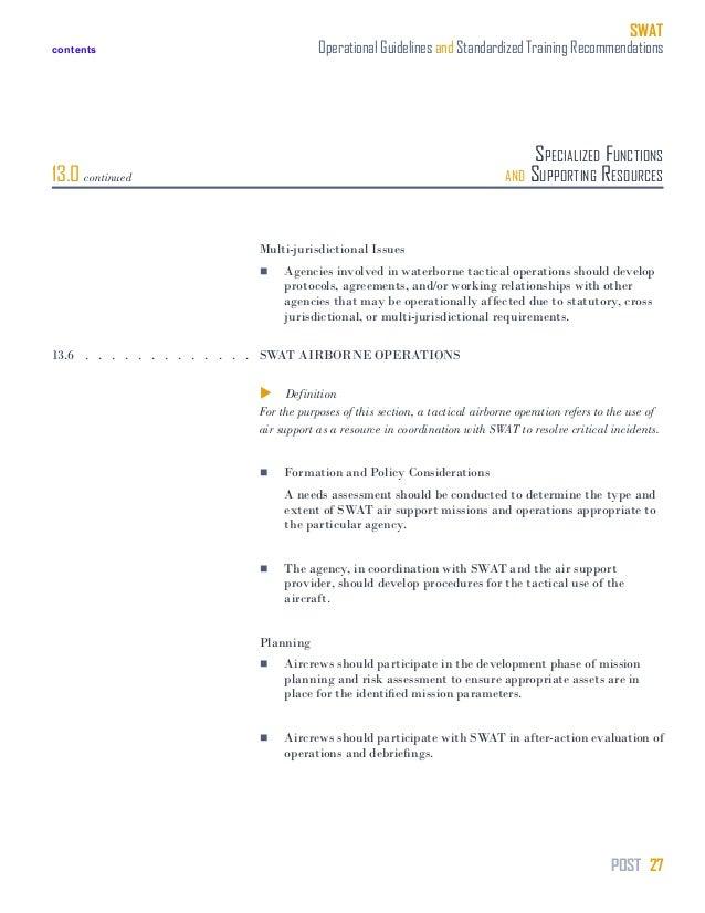 Swat Training Manual