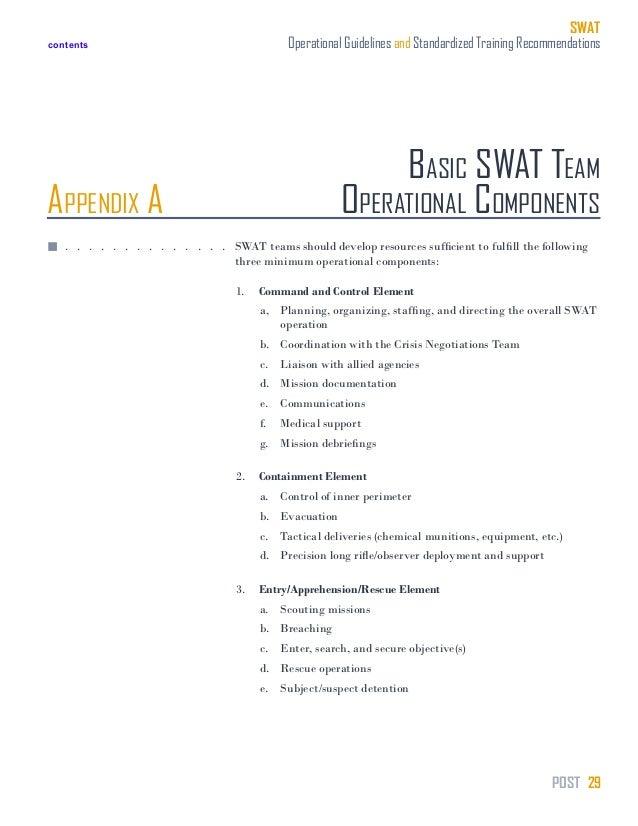 swat training manual rh slideshare net swat tactical training manual pdf SWAT- team