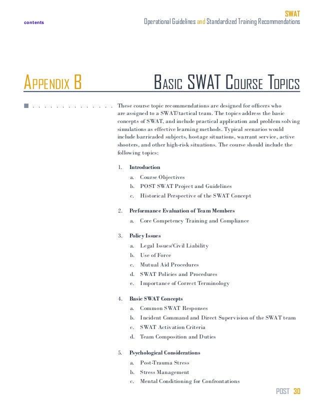 swat training manual rh slideshare net tactical training manual pdf swat tactical training manual
