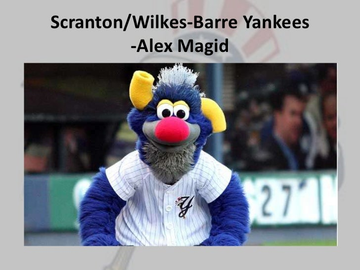 Scranton/Wilkes-Barre Yankees-Alex Magid<br />