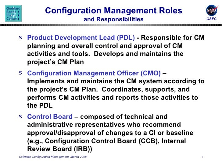 Configuration Management Plan Template The Process Overview Of Itil