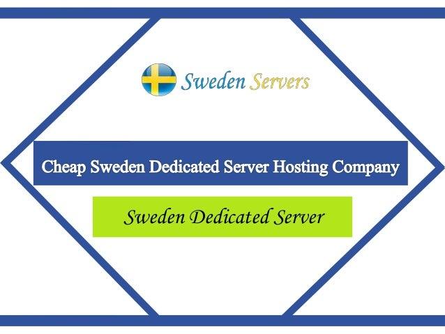 Sweden Dedicated Server