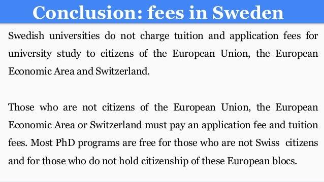 universities in sweden for phd