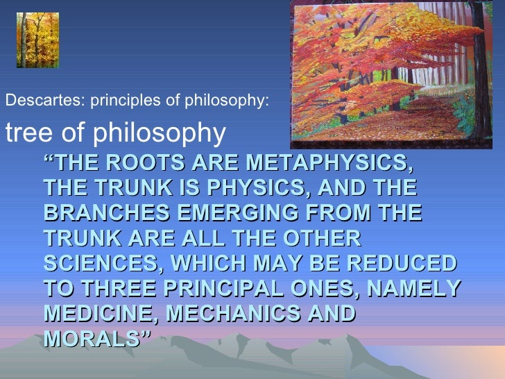 descartes and the metaphysical doubt What is descartes metaphysics and what is his modal metaphysics concerns the metaphysical underpinning of our his epistemology was hyperbolic doubt.