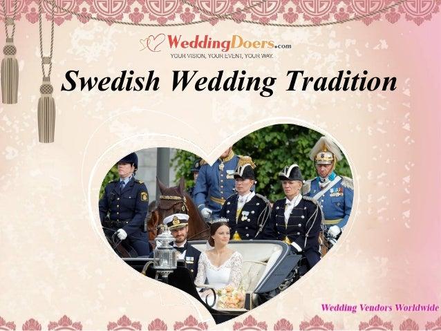 swedish wedding tradition