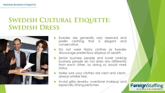 Swedish business etiquette 12 swedes reheart Choice Image