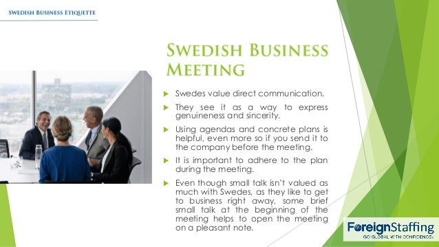 Swedish business etiquette 5 swedes reheart Choice Image