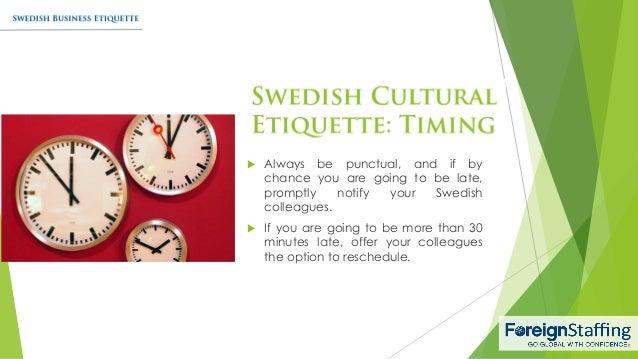 Swedish business etiquette 7 reheart Choice Image