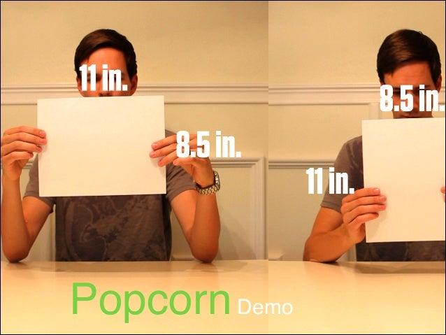 Popcorn Demo