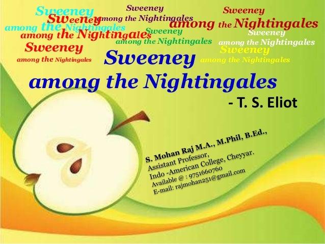Sweeney among the nightingales