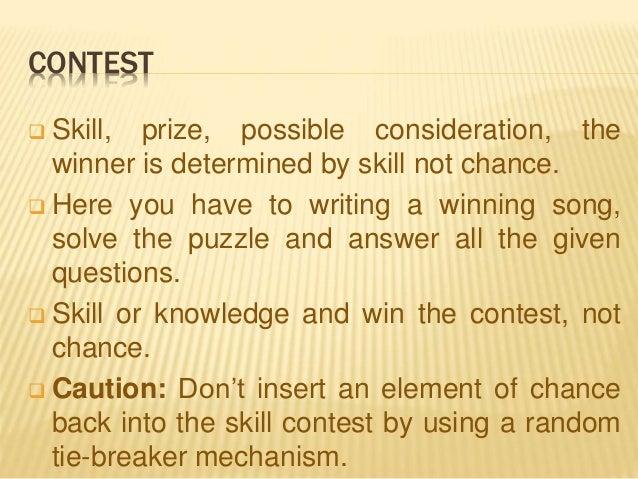 Gambling contest and sweepstake winstar world casino poker tournament