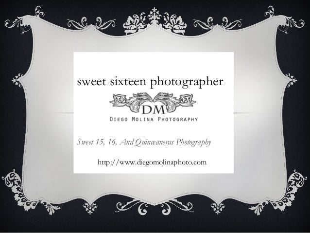 sweet sixteen photographer Sweet 15, 16, And Quinceaneras Photography http://www.diegomolinaphoto.com
