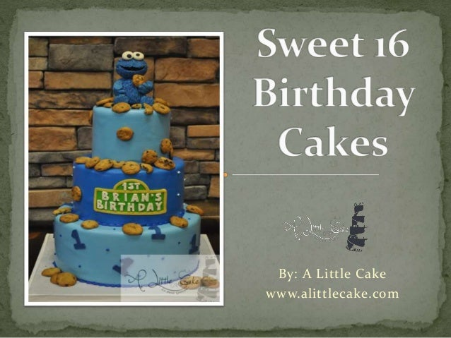 By: A Little Cake  www.alittlecake.com