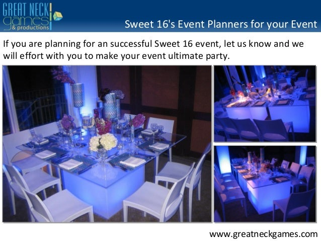 Sweet 16 S Party Planning Ny Nj Ct Manhattan And Entire