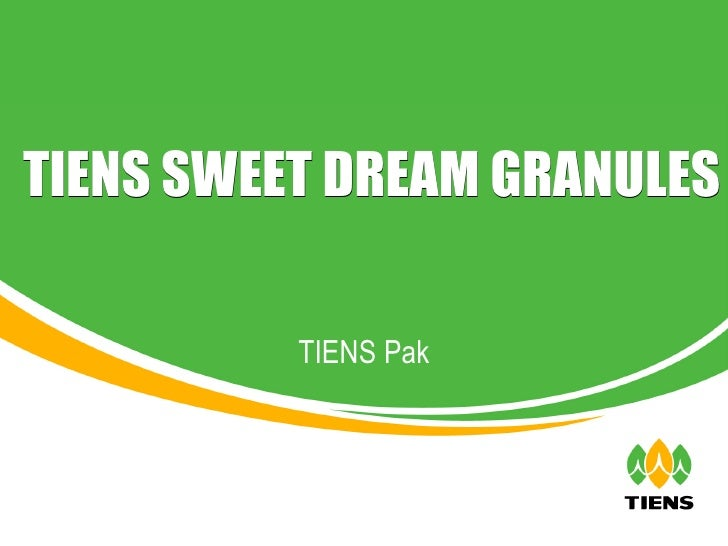 TIENS Pak TIENS SWEET DREAM GRANULES