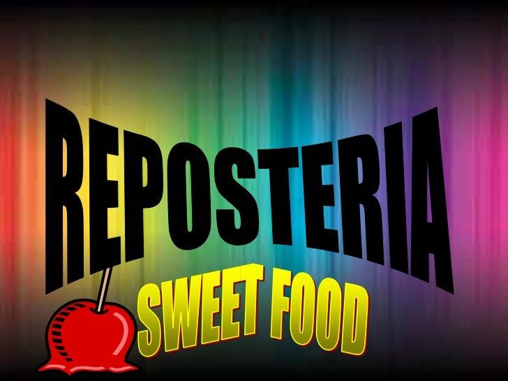 Sweet food1