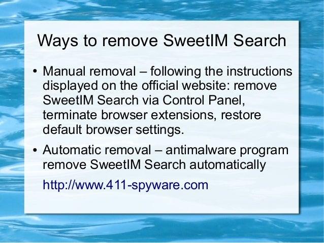 SweetIM - Privacy