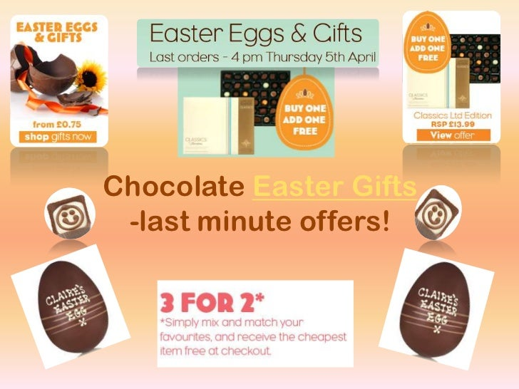 Sweets shops chocolate easter eggs easter gifts chocolate easter gifts last minute offers 6 negle Images