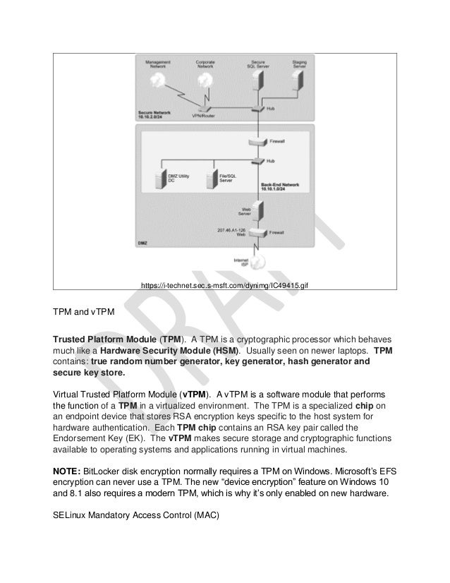 EXAM NOTES for DOD Standard 8570 CompTia Advanced Security Practition…