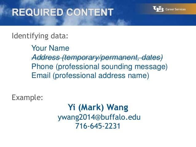 professional resume writing services buffalo ny