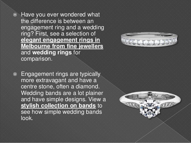 What Is The Difference Between A Wedding Ring And An Engagement Ring
