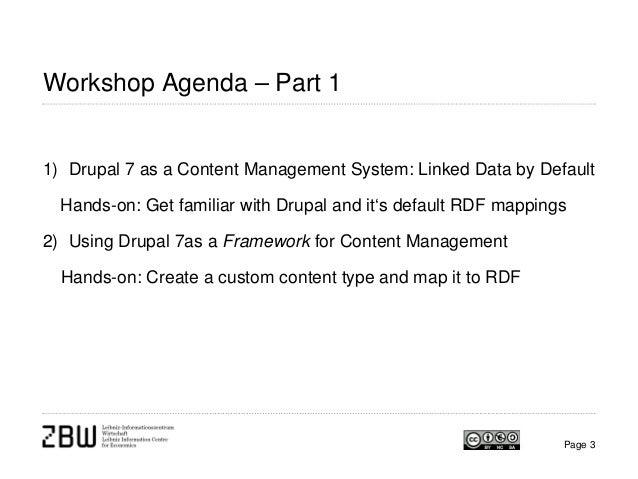 Linked Data Publishing with Drupal (SWIB13 workshop)