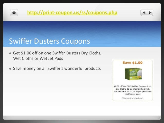 swiffer wet jet coupons printable swiffer coupons 25009 | swiffer coupons 6 638