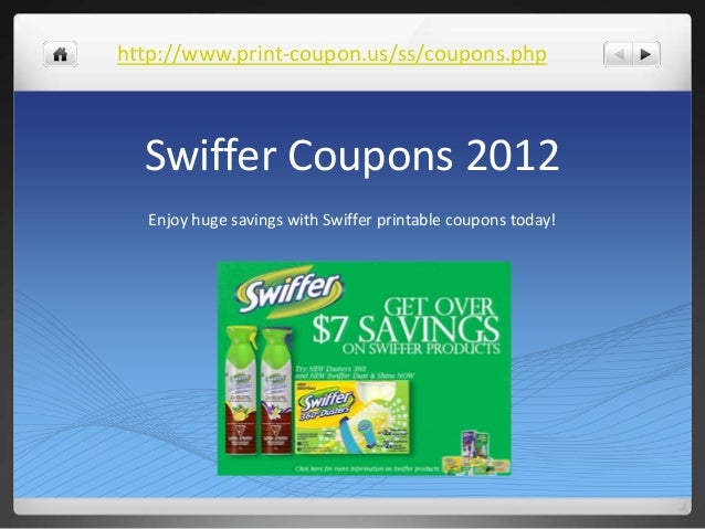 photo relating to Swiffer Coupons Printable identified as Swiffer Coupon codes