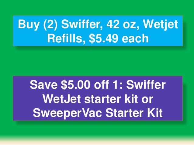 Swiffer WetJet Wood Floor Spray Mop gives you a great clean on virtually any floor in your home. With a unique dual-nozzle sprayer, this all-in-one mopping system breaks up and dissolves tough messes for a .