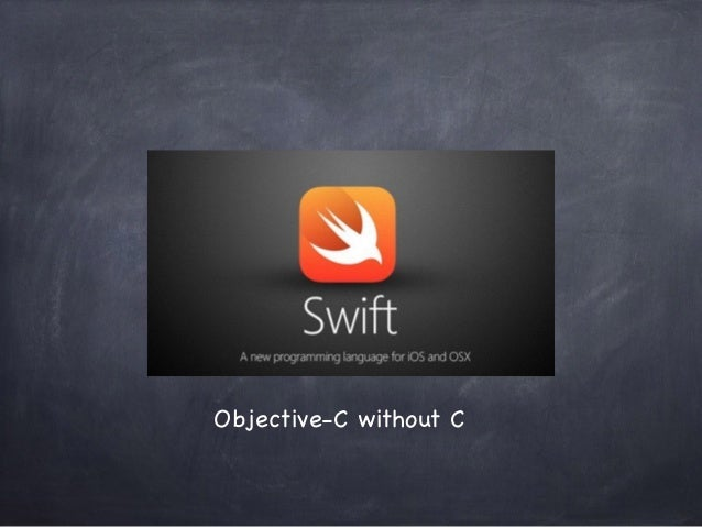 Objective-C without C