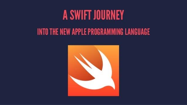 Swift Programming Language Slide 2