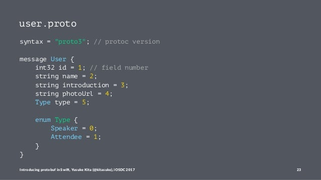 Introducing protobuf in Swift