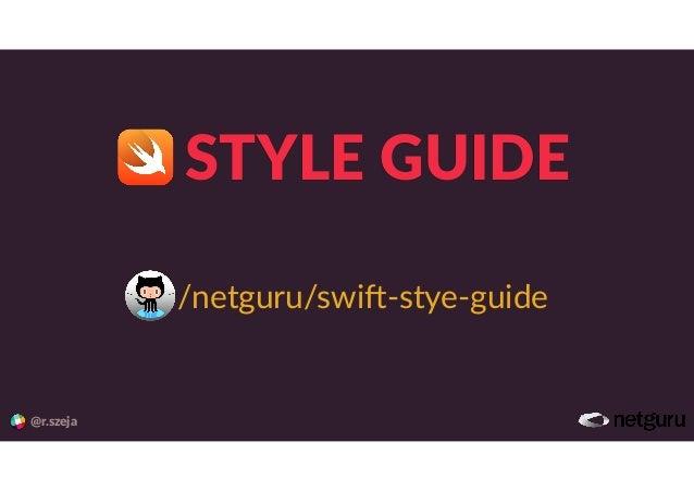 STYLE%GUIDE @r.szeja /netguru/swi+,stye,guide