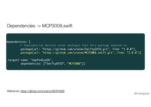 Swift hardware hacking @ try! Swift