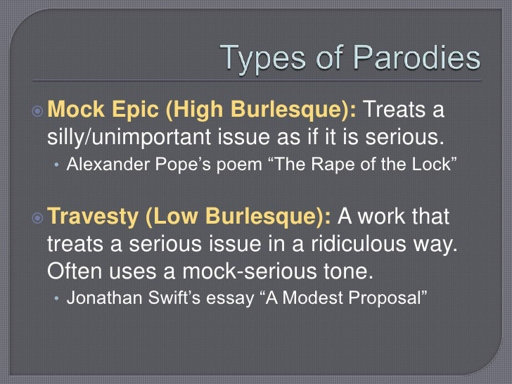 the modest proposal rape of the In both a modest proposal and the rape of the lock irony is used to mock the social/political values of the time in a modest proposal, jonathan swift proposes that.