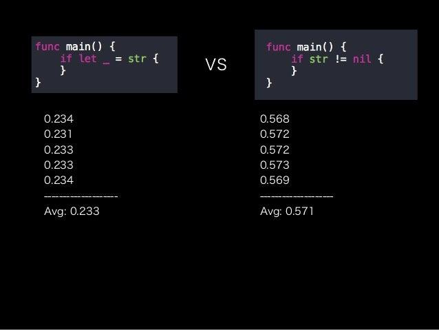 やはり圧倒的 if let ! これだけで、あなたのコードは2倍早くなるんです!?