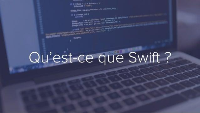 Qu'est-ce que Swift ?