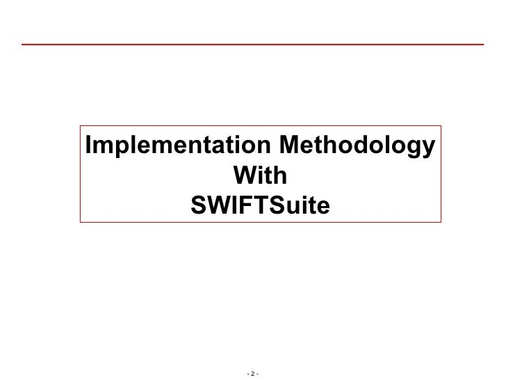 Rapid Tools Overview (SWIFTSuite)
