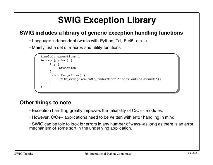how to catch an index out of bounds exception c++