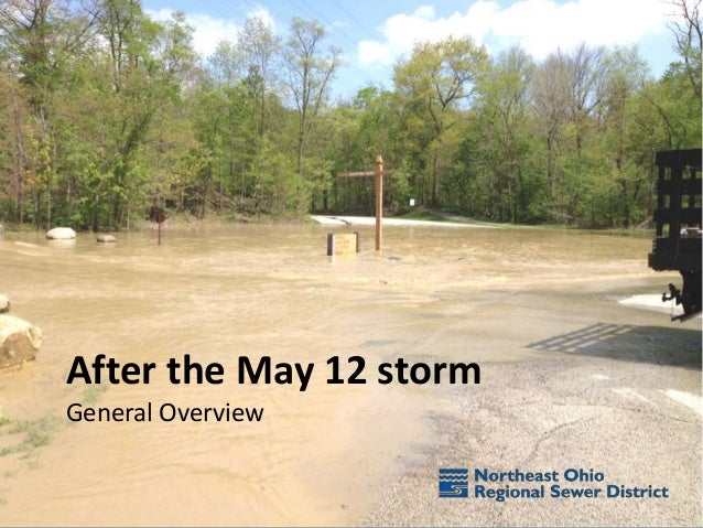 After the May 12 storm General Overview