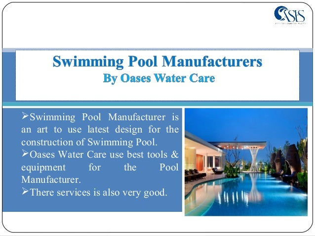 Swimming pool construction at affordable price for Swimming pool construction services