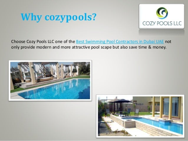 Cozy Pools Swimming Pool Companies In Dubai