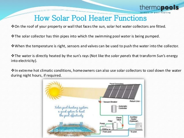 Swimming pool heating facts choose pool heating system wisely 3 how solar pool heater functions sciox Gallery