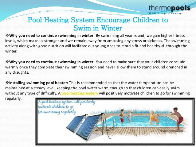 Swimming Pool Heating Facts Choose Pool Heating System