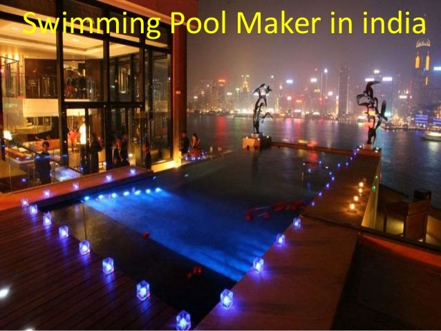 Swimming Pool Maker In India