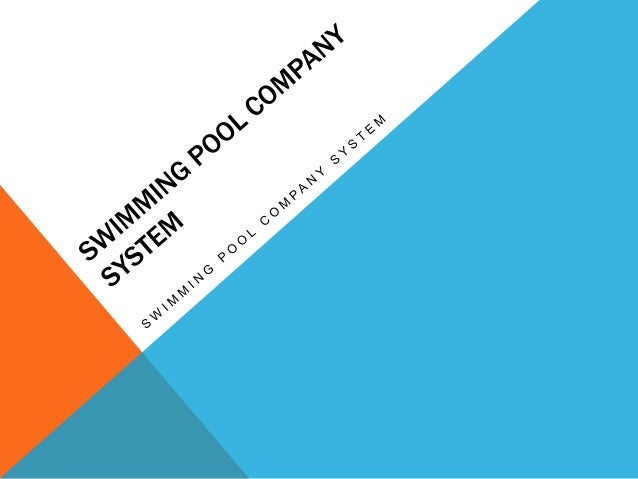 Swimming pool management system for Swimming pool management companies