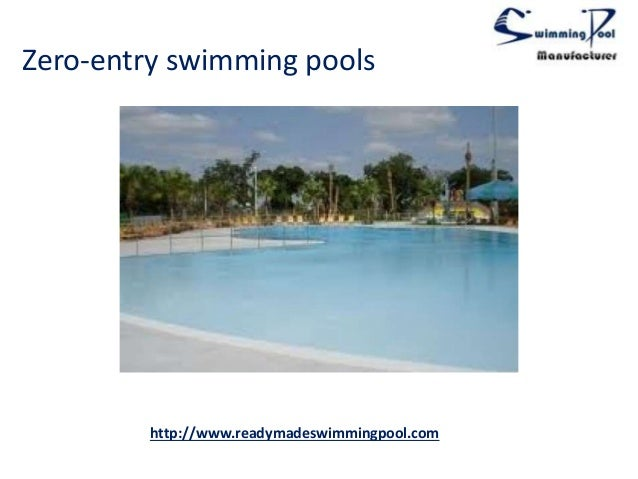 Prefabricated swimming pool for Premade pools