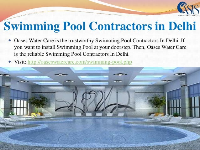 Visit: Http://oaseswatercare.com/swimming Pool.php; 10.